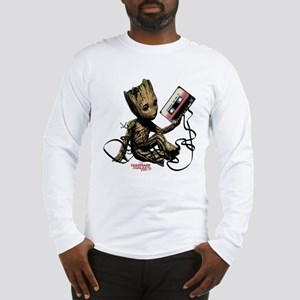 GOTG Groot Cassette Long Sleeve T-Shirt