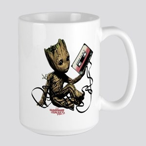 GOTG Groot Cassette Large Mug