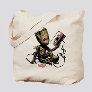 GOTG Groot Cassette Tote Bag