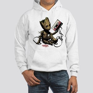 GOTG Groot Cassette Hooded Sweatshirt