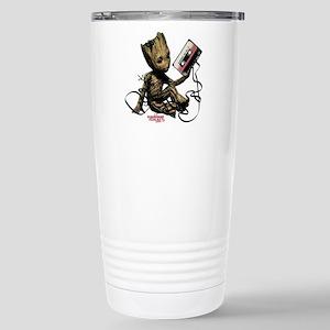 GOTG Groot Cassette Stainless Steel Travel Mug