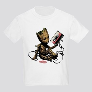 GOTG Groot Cassette Kids Light T-Shirt