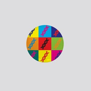 Genetics Pop Art Mini Button