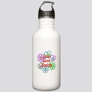 Live Love Swim Stainless Water Bottle 1.0L