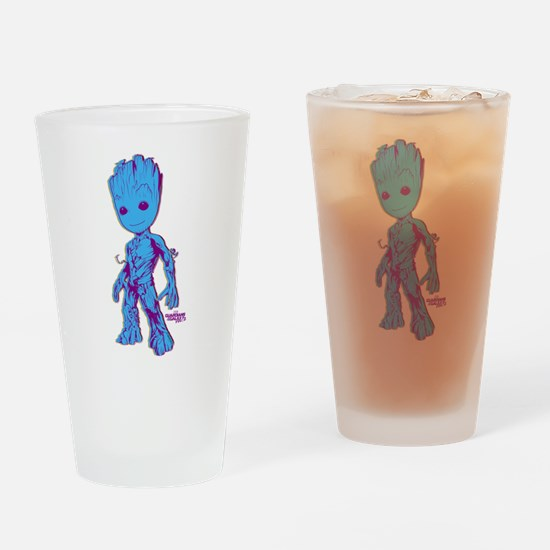 GOTG Groot Pose Drinking Glass