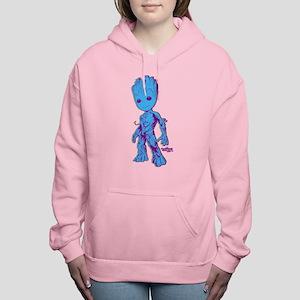 GOTG Groot Pose Women's Hooded Sweatshirt