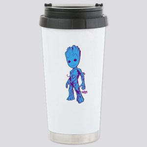 GOTG Groot Pose Stainless Steel Travel Mug