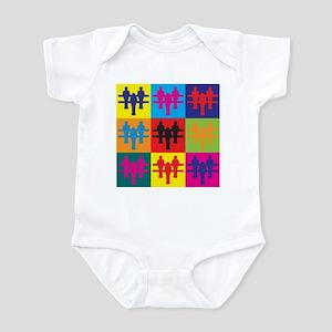 Foosball Pop Art Infant Bodysuit