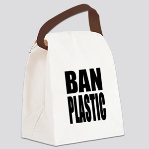 Ban Plastic Canvas Lunch Bag