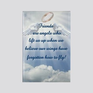 Friendship Angel Rectangle Magnet