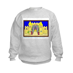 Castle Under The Sea Kid Sweatshirt