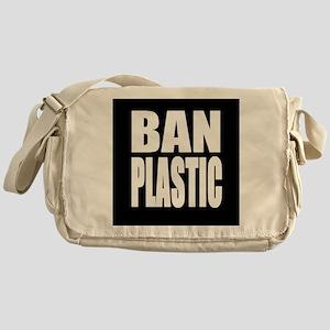 Ban Plastic Messenger Bag