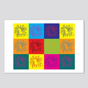Fireworks Pop Art Postcards (Package of 8)