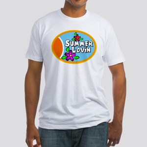 Summer Lovin Fitted T-Shirt