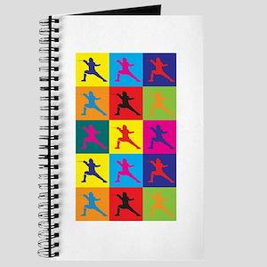 Fencing Pop Art Journal