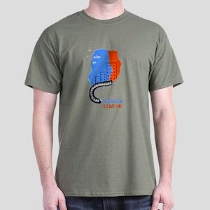 Orderly Safe Line Dark T-Shirt