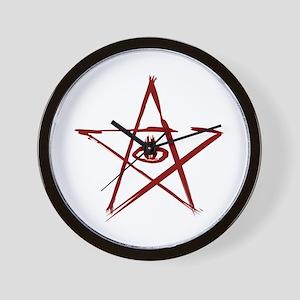 Elder Sign Wall Clock