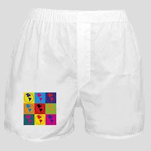 Environmental Science Pop Art Boxer Shorts