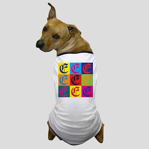 English Pop Art Dog T-Shirt