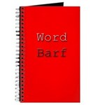 Word Barf Journal