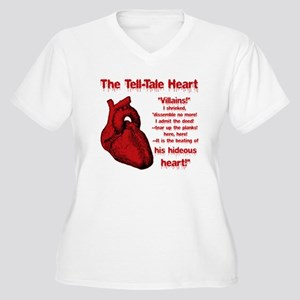 The Tell-Tale Heart Plus Size T-Shirt