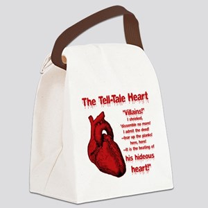 The Tell-Tale Heart Canvas Lunch Bag