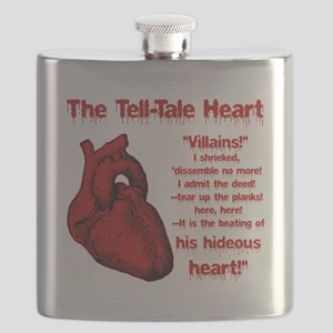 The Tell-Tale Heart Flask