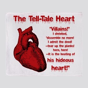 The Tell-Tale Heart Throw Blanket