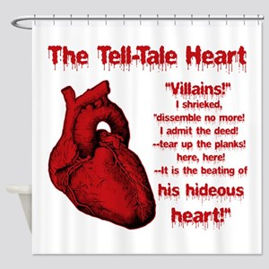 The Tell-Tale Heart Shower Curtain