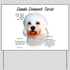 Dandie Dinmont Yard Sign