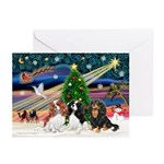 X-Magic-3 Cavaliers Greeting Cards (Pk of 10)