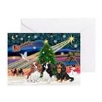 X-Magic-3 Cavaliers Greeting Cards (Pk of 20)