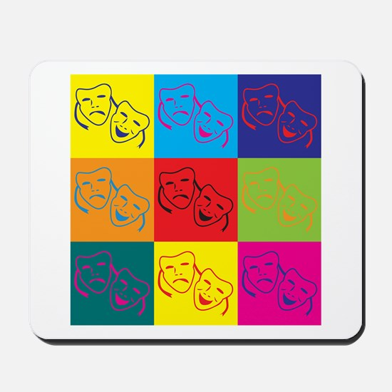 Drama Pop Art Mousepad
