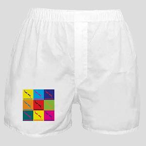 Diving Pop Art Boxer Shorts
