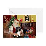 Santas Cavalier Greeting Cards (Pk of 20)