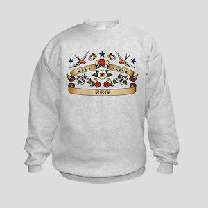 Live Love EEG Kids Sweatshirt