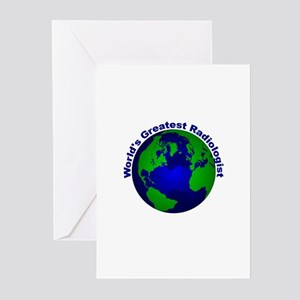 World's Greatest Radiologist Greeting Cards (Pk of