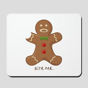 """Bite Me"" Mousepad"