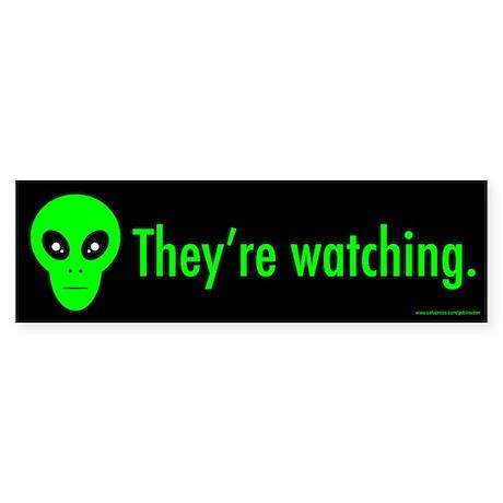 They're Watching (sticker)