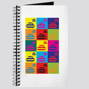 Curling Pop Art Journal