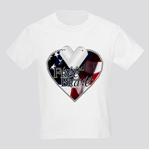 Because of the Brave Kids Light T-Shirt