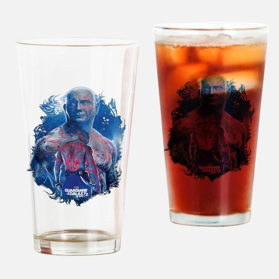 GOTG Drax Pose Drinking Glass