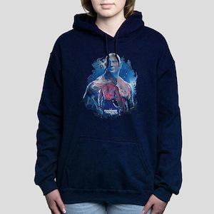GOTG Drax Pose Women's Hooded Sweatshirt