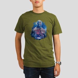 GOTG Drax Pose Organic Men's T-Shirt (dark)