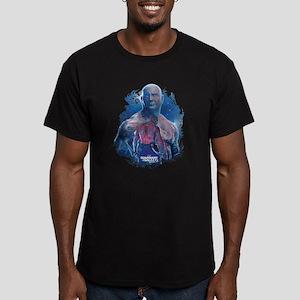 GOTG Drax Pose Men's Fitted T-Shirt (dark)