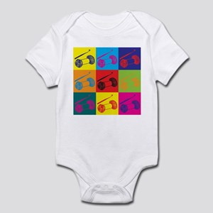 Crocheting Pop Art Infant Bodysuit