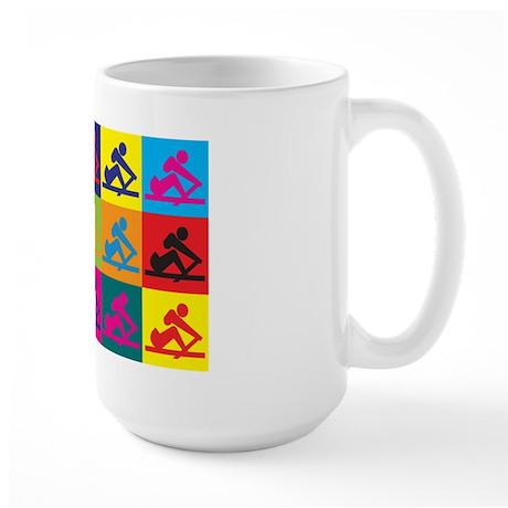 Crewing Pop Art Large Mug