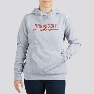 Alpha Omicron Pi Sisters Women's Hooded Sweatshirt