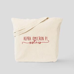 Alpha Omicron Pi Sisters Tote Bag