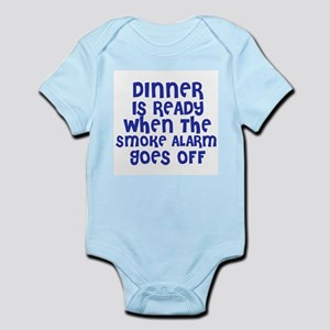 Dinner is Ready Infant Creeper